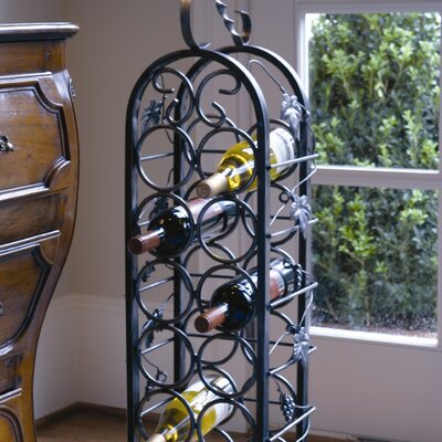 Bismarck 12 Bottle Floor Wine Rack
