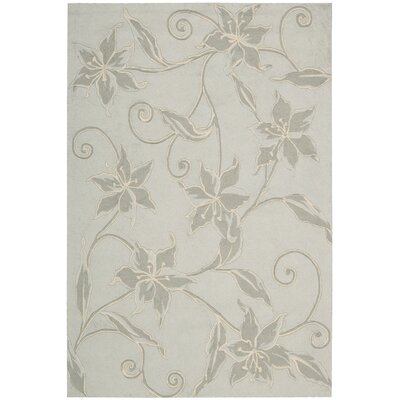 Carlina Grey Area Rug Rug Size: Rectangle 19 x 29
