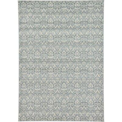 Avignon Gray Area Rug Rug Size: 7 x 10