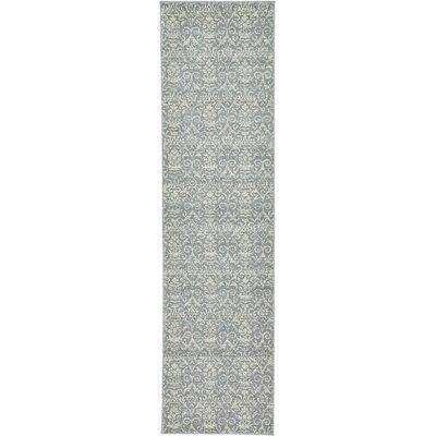 Avignon Gray Area Rug Rug Size: Runner 27 x 10