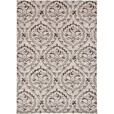Sherryl Beige Area Rug Rug Size: Rectangle 9 x 12