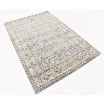 Claire Gray Area Rug