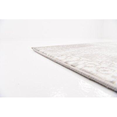 Argyle Light Gray Area Rug Rug Size: 9 x 12
