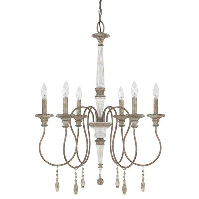 Armande Candle-Style Chandelier Size: Medium