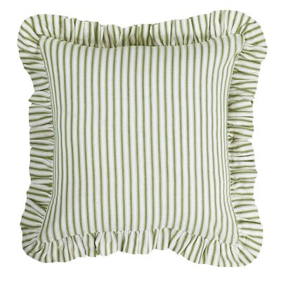 Mullenax Cotton Throw Pillow Color: Sage