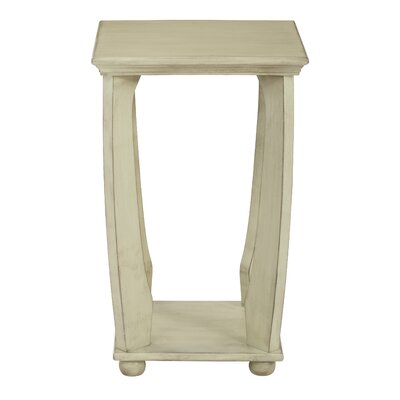Stephane End Table Color: Antique Celadon