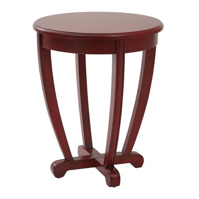 Esmond End Table Finish: Red