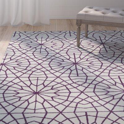 Varick Gallery Chew Magna Purple Area Rug