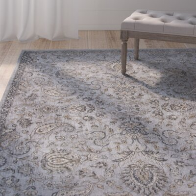 Benoit Taupe Area Rug Rug Size: 33 x 47