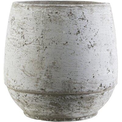 Cement Decorative Pot Size: 10.2