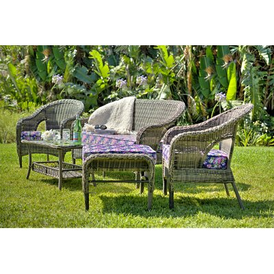 Araiza 5 Piece Seating Group with Cushion