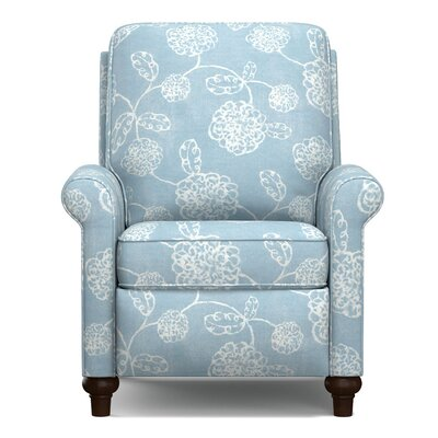 Marseille Push Back Recliner Upholstery: Blue Floral