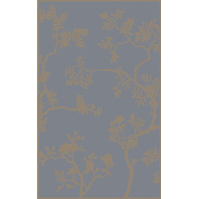 Haller Hand-Tufted Gray Area Rug Rug Size: Rectangle 4' x 6'