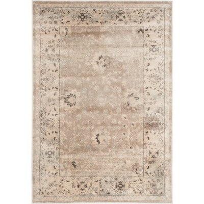 Talmont Ivory Rug Rug Size: 67 x 92