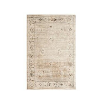 Talmont Ivory Rug Rug Size: 23 x 39