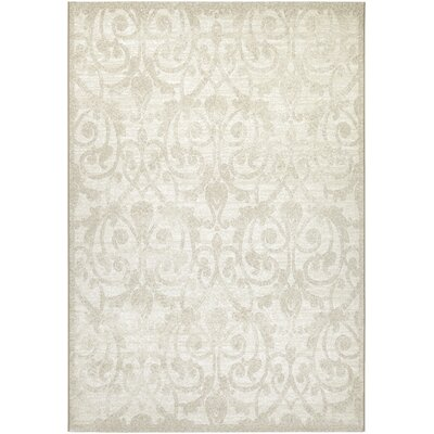 Elise Champagne Area Rug Rug Size: Rectangle 53 x 76