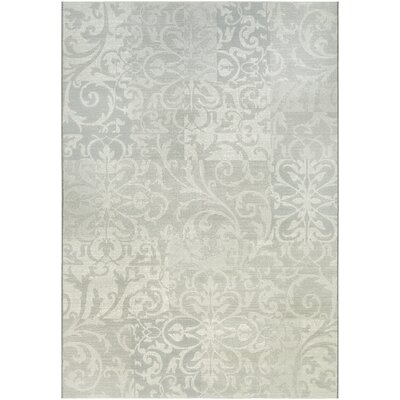 Elise Pearl Area Rug Rug Size: Rectangle 92 x 129