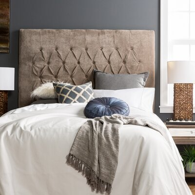 Myrtille Hanover Upholstered Panel Headboard Size: Full