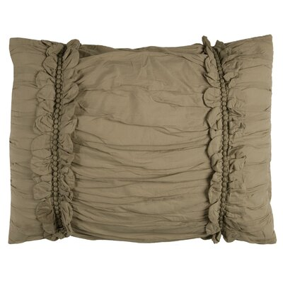 Pedraza Sham Size: King, Color: Khaki