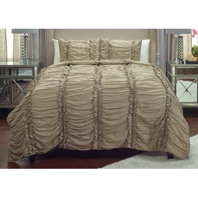 Pedraza Quilt Size: King, Color: Khaki