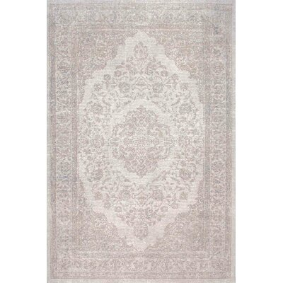 Bolt Gray Area Rug Rug Size: Rectangle 76 x 96