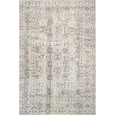 Shelford Beige Area Rug Rug Size: Rectangle 8 x 10