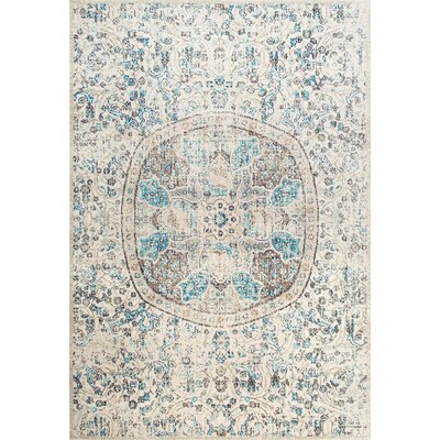 Asher Beige Area Rug Rug Size: Rectangle 4 x 6