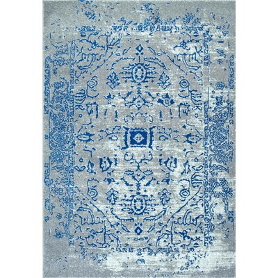 Olmstead Blue Area Rug Rug Size: 9 x 12