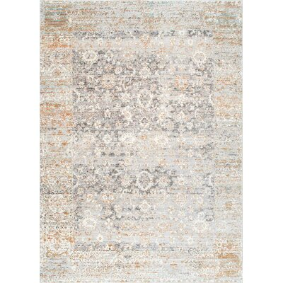 Tradewinds Beige Area Rug Rug Size: Rectangle 53 x 77