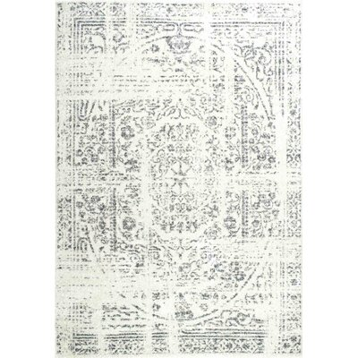 Olvera Gray Area Rug Rug Size: Rectangle 4 x 6