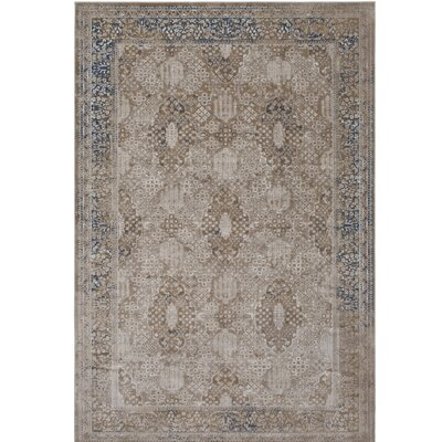 Hummell Beige Area Rug Rug Size: Rectangle 53 x 73