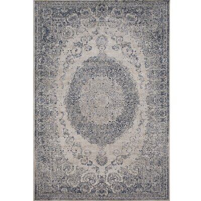 Hummell Traditional Tibetan Gray Area Rug Rug Size: Rectangle 5'3