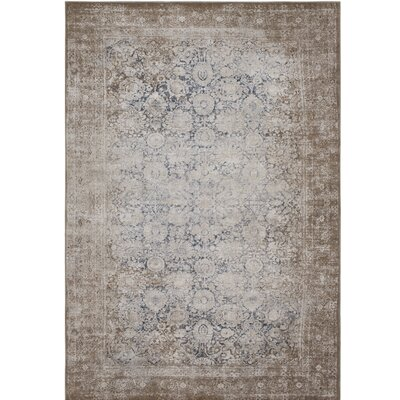 Hummell Traditional Beige Area Rug Rug Size: Rectangle 53 x 73