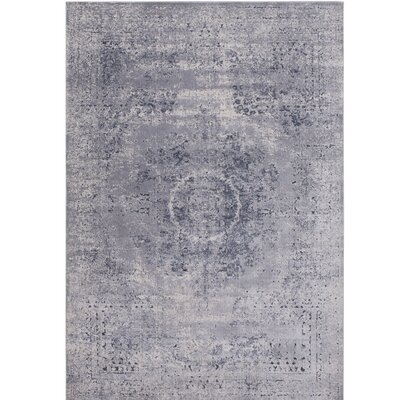 Hummell Tibetan Gray Area Rug Rug Size: Rectangle 53 x 73