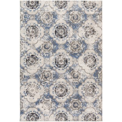 Raquel Blue/Gray Area Rug Rug Size: Rectangle 711 x 11