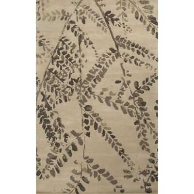 Olympias Cream Floral Area Rug Rug Size: 2 x 3