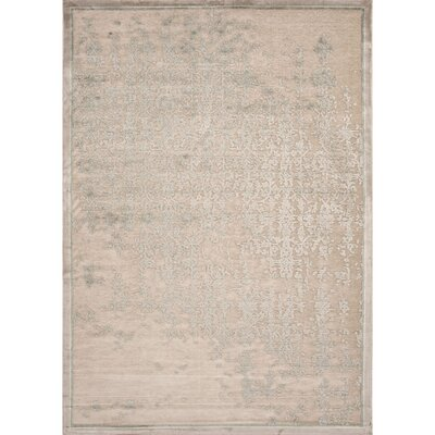 Calixta Cream/Ivory Abstract Area Rug Rug Size: Rectangle 76 x 96