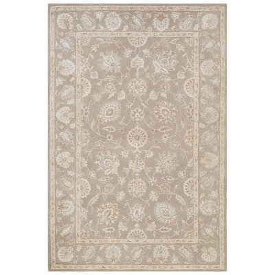 Onatas Hand-Tufted Gray Area Rug Rug Size: Rectangle 2 x 3
