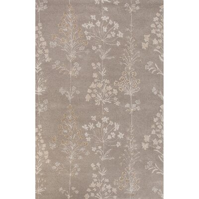 Onatas Hand-Tufted Taupe/Ivory Area Rug Rug Size: 8 x 10