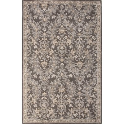 Onatas Hand-Tufted Brown/Ivory Area Rug Rug Size: 5 x 8