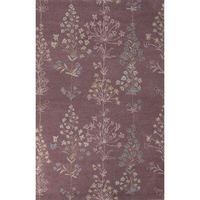 Onatas Hand-Tufted Pink/Ivory Area Rug