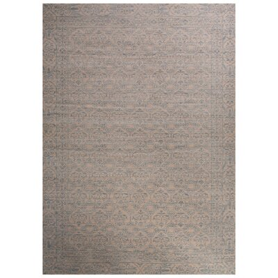 Oneil Ivory/Blue Area Rug Rug Size: 2 x 3