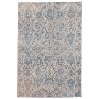 Oneil Gray Mist/Taupe Gray Area Rug Rug Size: 76 x 96