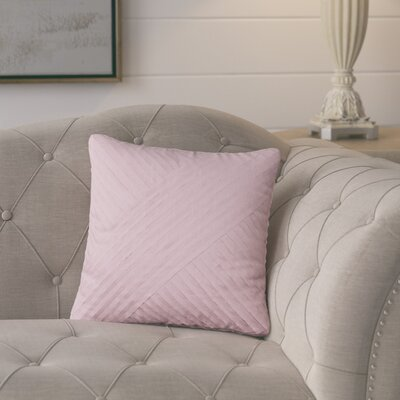 Emile Petals Cotton Throw Pillow