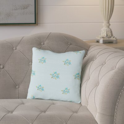 Coldspring Flower Throw Pillow Size: 18 H x 18 W x 2 D