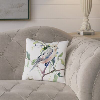 Conesus Mouring Dove Throw Pillow Size: 16 H x 16 W x 2 D