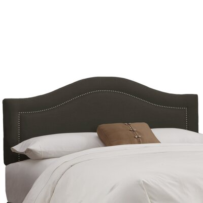 Ophiuchi Upholstered Panel Headboard Upholstery: Charcoal, Size: King