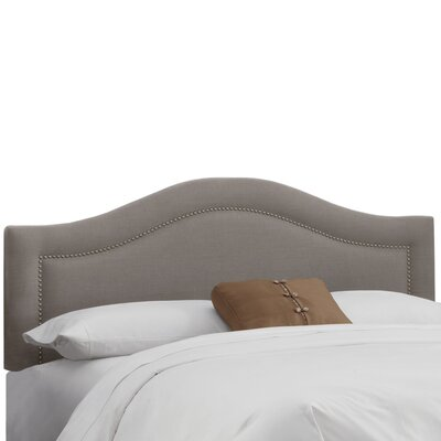 Ophiuchi Upholstered Panel Headboard Size: Full, Upholstery: Grey