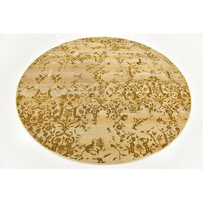 Eris Beige Indoor/Outdoor Area Rug Rug Size: 4 x 6