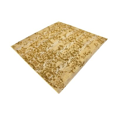 Eris Beige Indoor/Outdoor Area Rug Rug Size: Square 6